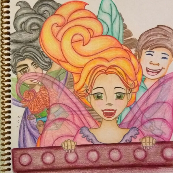 oquirrh mountain fairies mineral magic coloring and story book