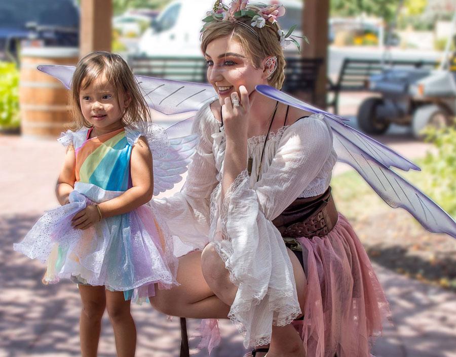oquirrh mountain fairies mineral magic book launch at gardner village
