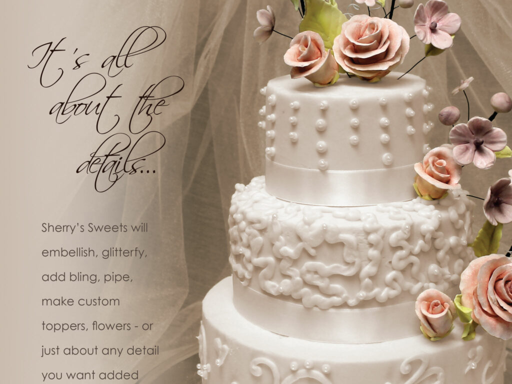 wedding cake order book by kelly parke