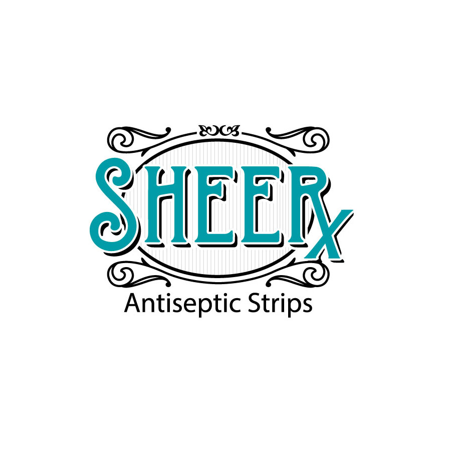 logo concept for sheer x by kelly parke