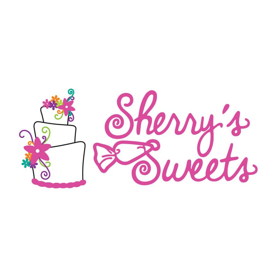 sherrys sweets logo by kelly parke