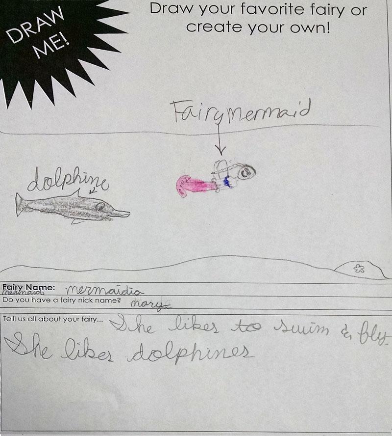 scholar academy student fairy drawings