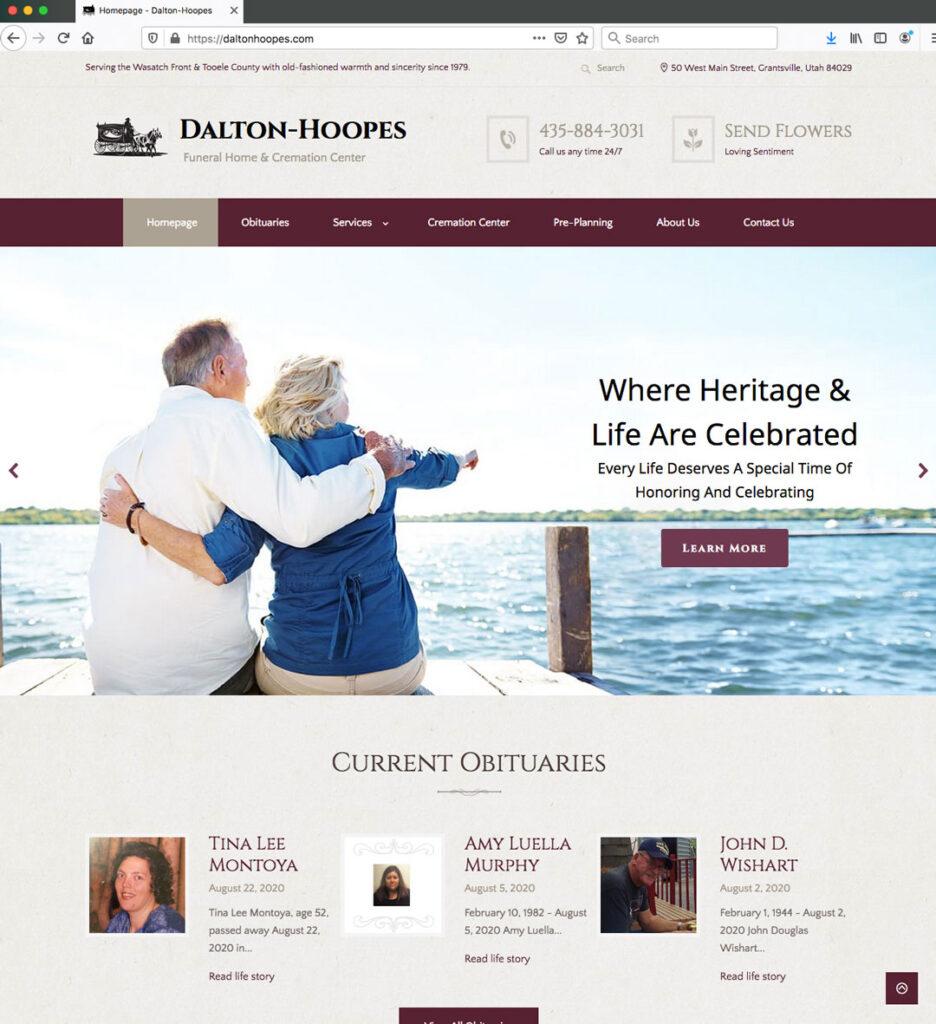 parke creative website design